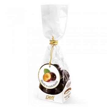 czekoladki śliwki w czekoladzie 100g