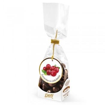 czekoladki żurawina w czekoladzie 100g