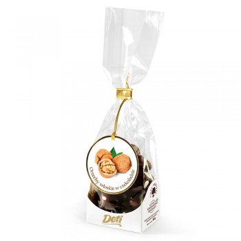 czekoladki orzechy włoskie w czekoladzie 100g torebka
