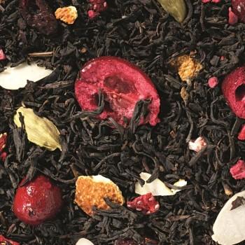 herbata czarna smakowa santa berry