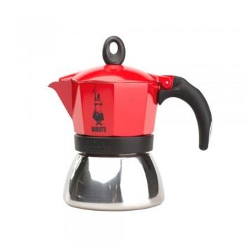 kawiarka bialetti moka induction 3tz czerwona