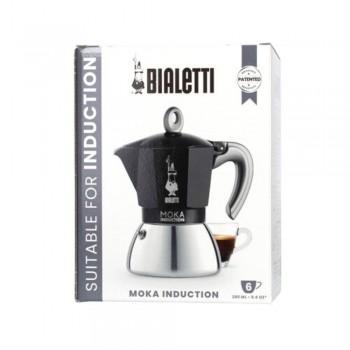kawiarka bialetti new moka induction 6tz czarna pudełko