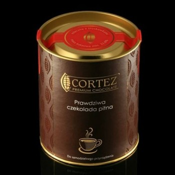 czekolada pitna ciemna z malinami