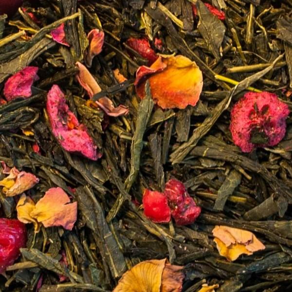 herbata zielona smakowa bancha arigato
