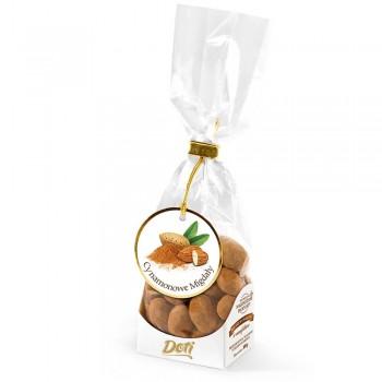 czekoladki migdały w białej czekoladzie z cynamonem 100g