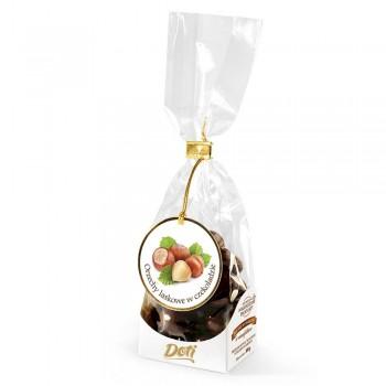 czekoladki orzechy laskowe w mlecznej czekoladzie 100g