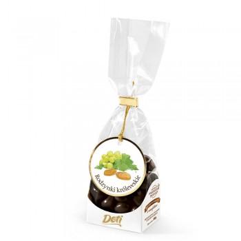 czekoladki królewskie w mlecznej czekoladzie 100g